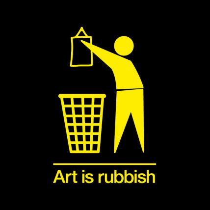 Art is rubbish event