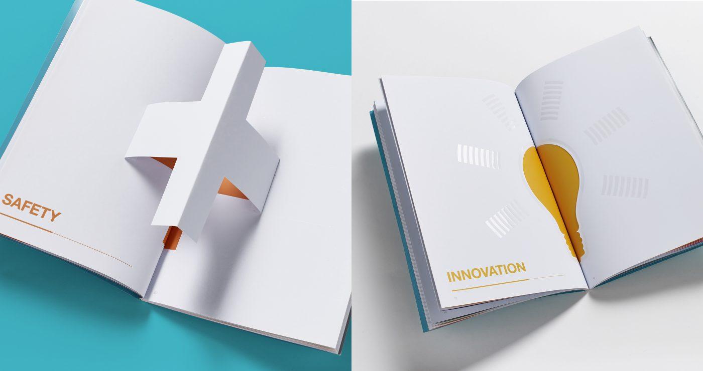 award winning brochure design - award winning awards brochure wpa pinfold