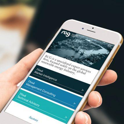 A renewed digital platform for RCG